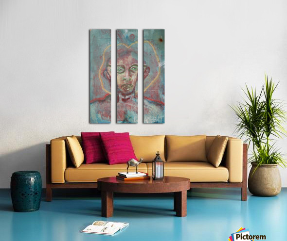The chosen one Split Canvas print