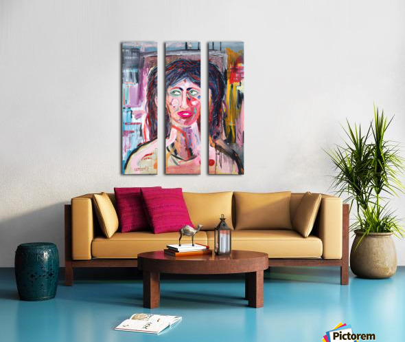 Dorothea Split Canvas print