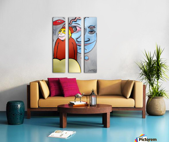 The Doge Split Canvas print