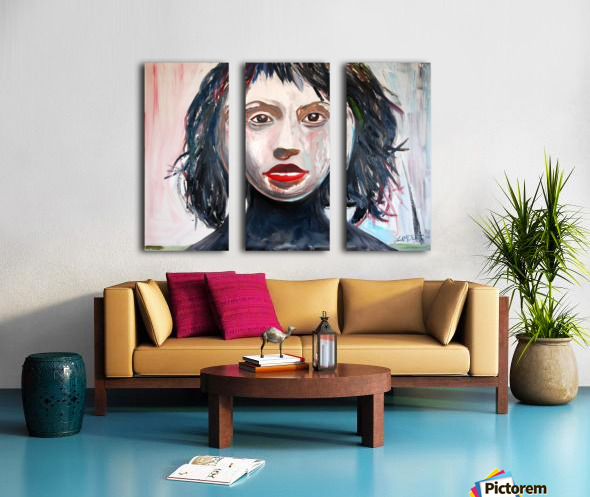 Eva Split Canvas print