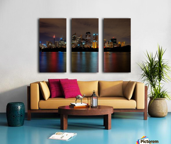 Colors of Sydney Split Canvas print