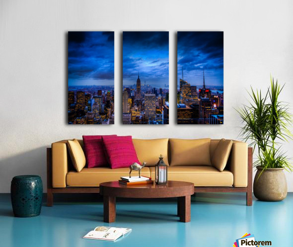Empire State of Mind Split Canvas print
