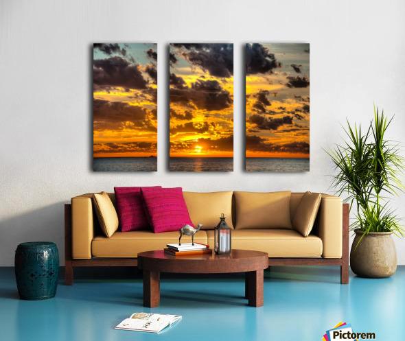 Fire in the Sky Split Canvas print