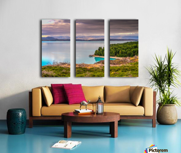 Lake_pukaki Split Canvas print