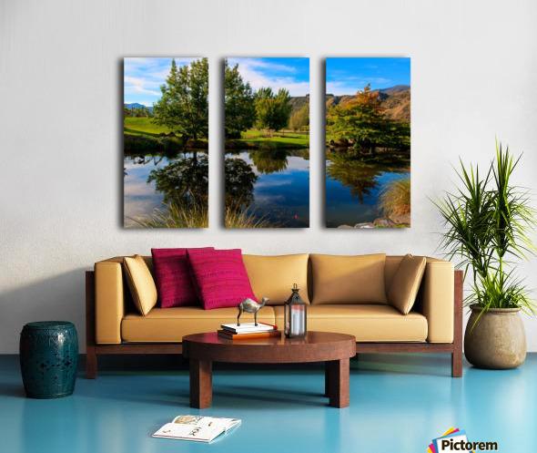 The Perfect Mirror Split Canvas print