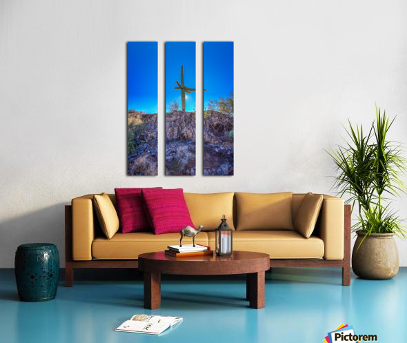 Natures Cross Split Canvas print