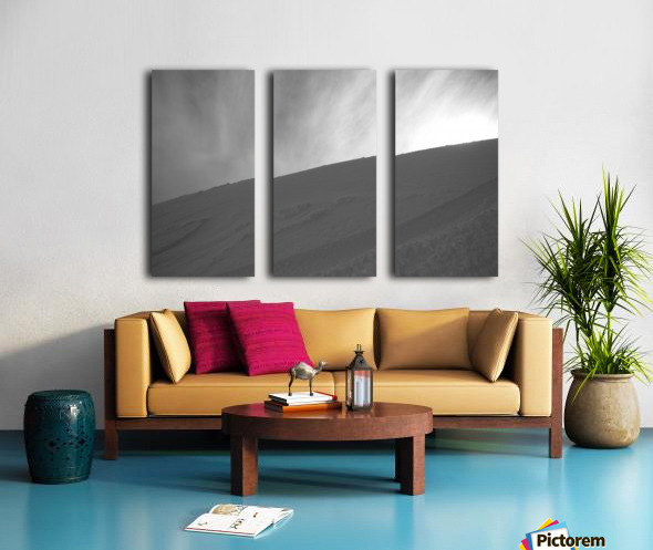 Whiteout Split Canvas print
