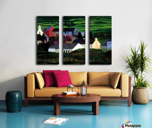 IRELAND VILLAGE Split Canvas print