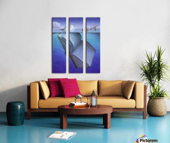iceberg Split Canvas print