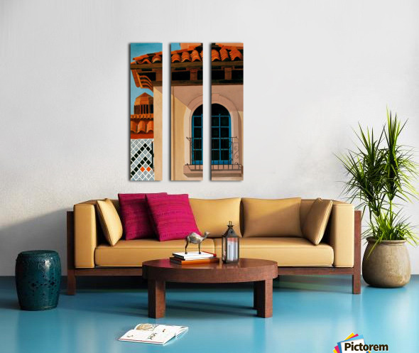 KANSAS CITY COUNTRY CLUB PLAZA Split Canvas print