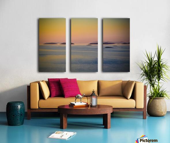 Adriatic islands Split Canvas print