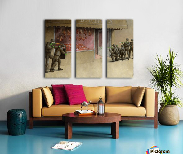 SWAT Split Canvas print