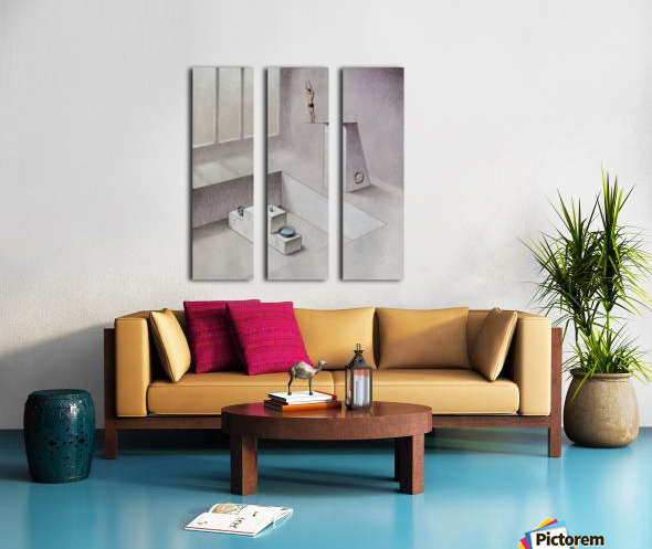 Competition Split Canvas print