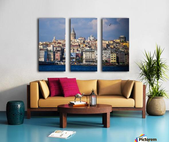 Galata, Istanbul Split Canvas print