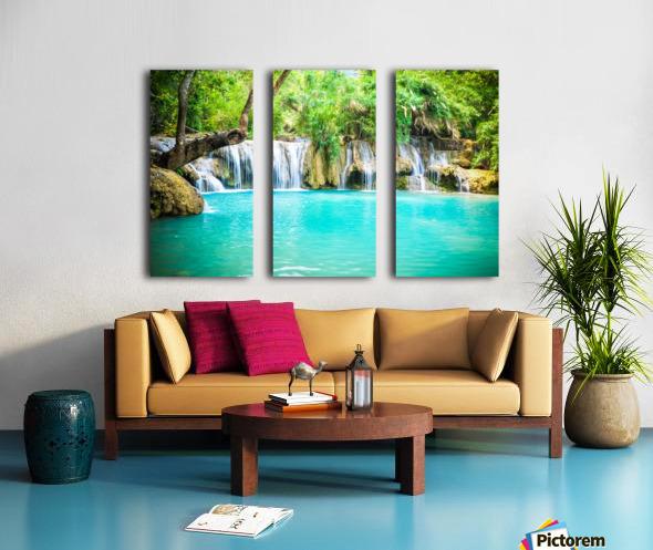Luang Prabang waterfalls Split Canvas print