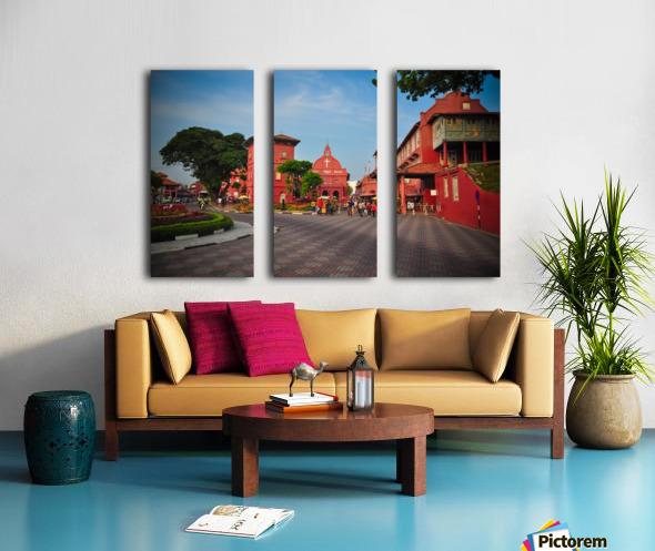 Melaka Split Canvas print