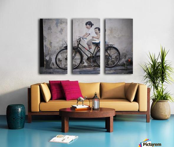 Penang Split Canvas print