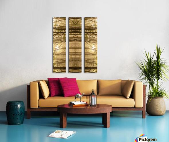 Paradoxical Forest Split Canvas print