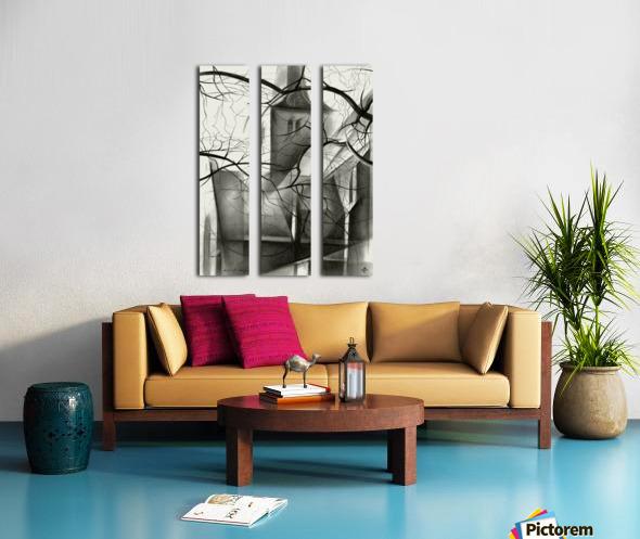 Rijswijk - 04-12-15 Split Canvas print