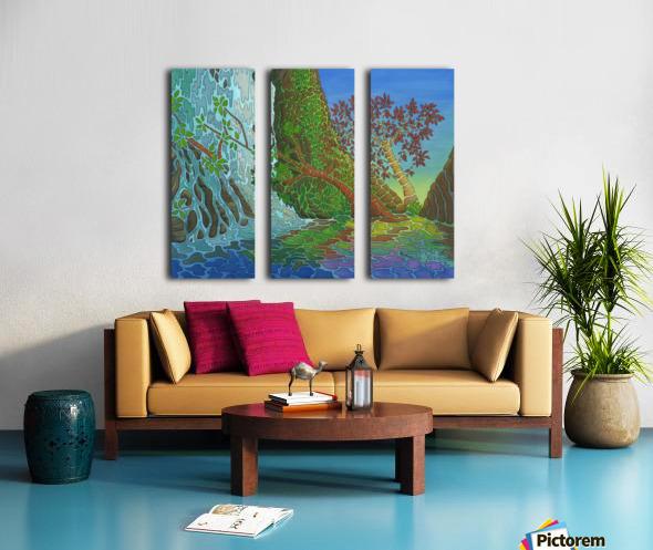 The Big Picture Split Canvas print