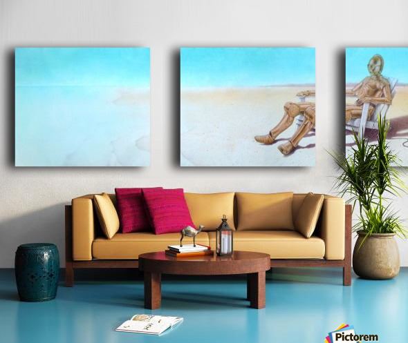 holidays Split Canvas print