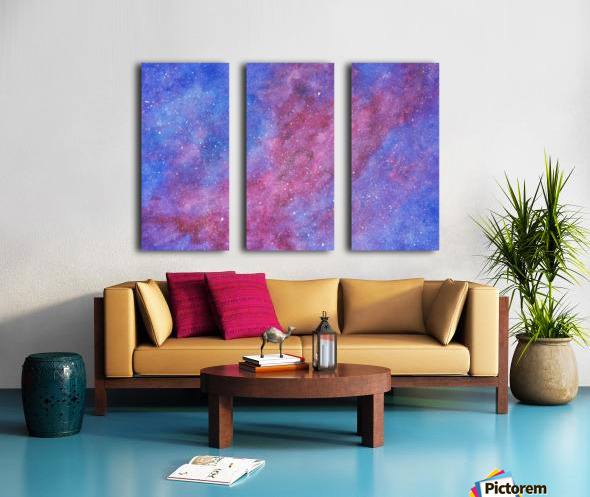 Galaxis Split Canvas print
