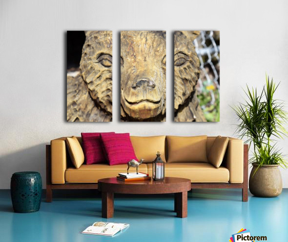 The Animal Totem  Split Canvas print
