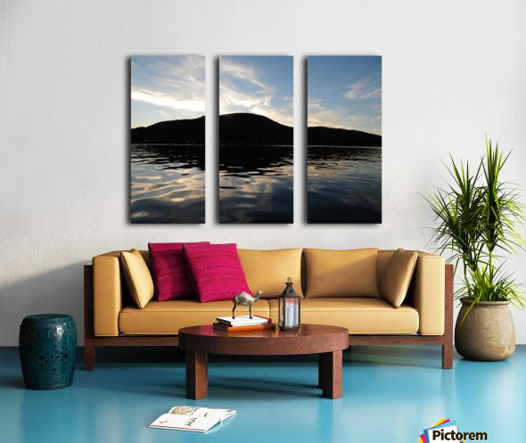 Ancient Hills, Open Water  Split Canvas print