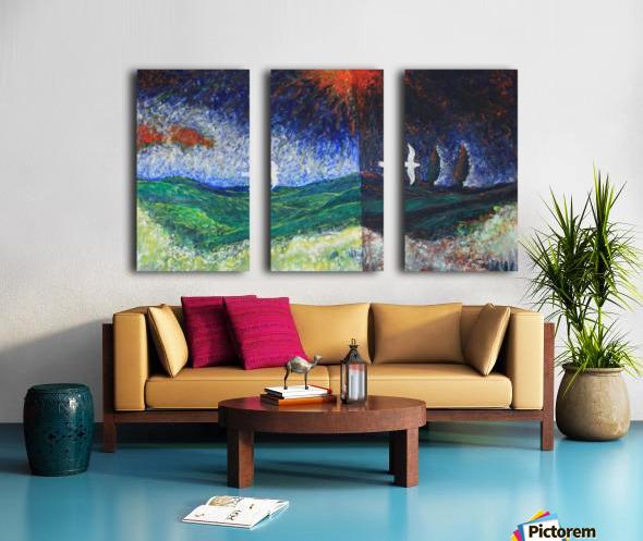 beetwen Split Canvas print