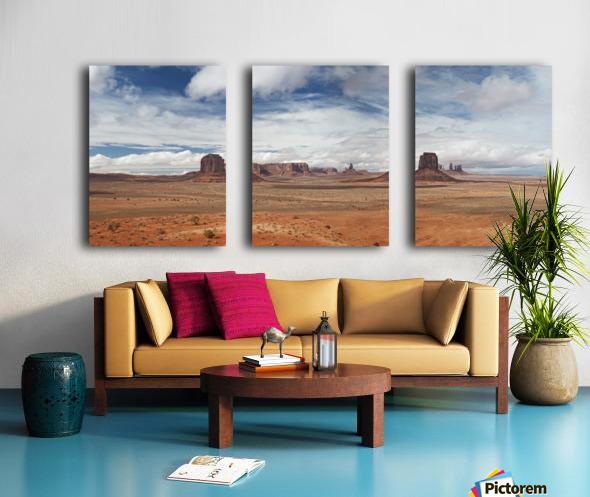 Monument Valley 1 Split Canvas print