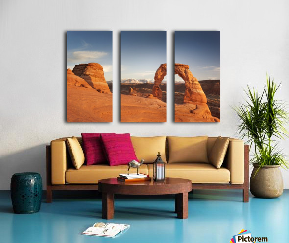 Arches National Park 1 Split Canvas print