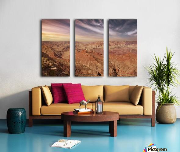 Grand Canyon Sunset Split Canvas print