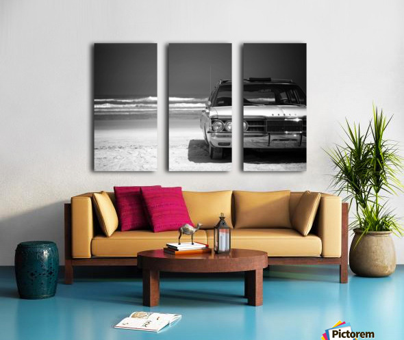 Daytona Beach 1 Split Canvas print