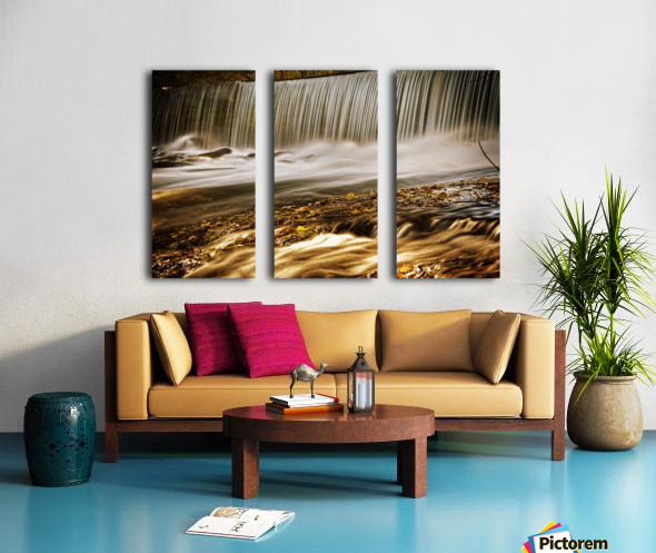 Waterfall Split Canvas print