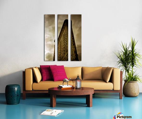 New York Flatiron Building Split Canvas print