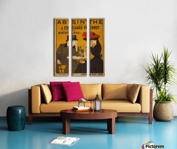 Absinthe Split Canvas print