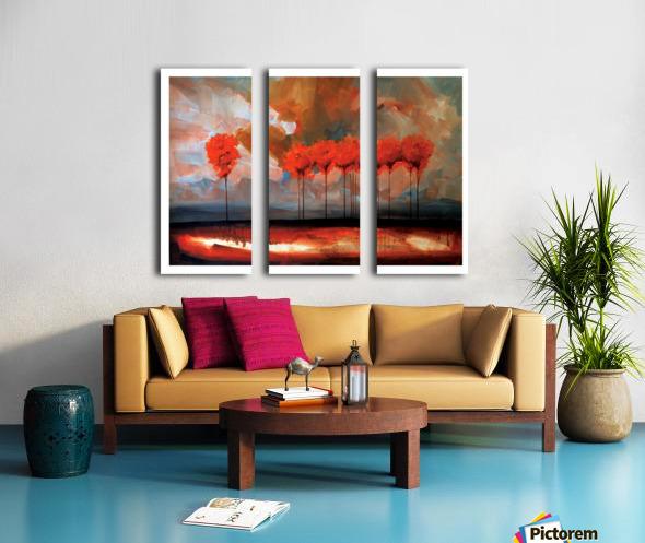 Tall Trees Split Canvas print