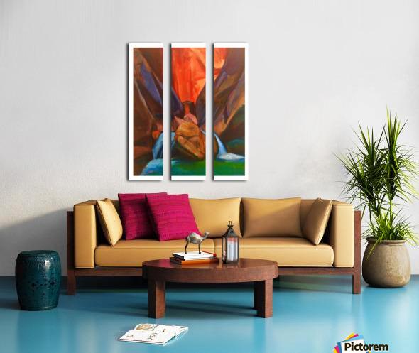 Zion Split Canvas print