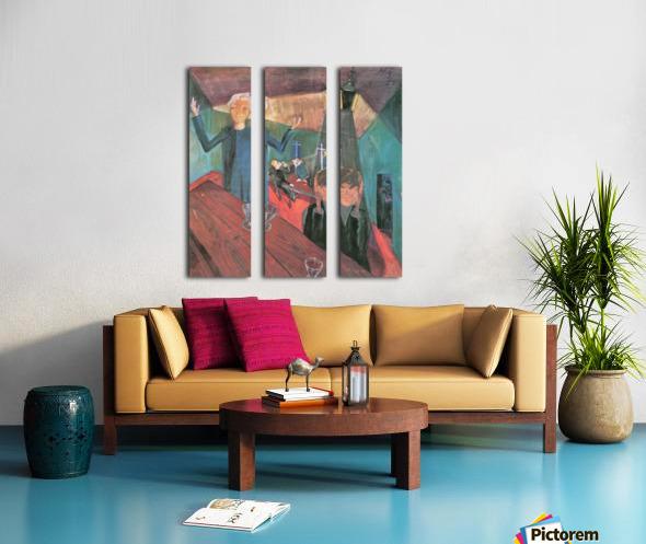 Trinker by Walter Gramatte Split Canvas print