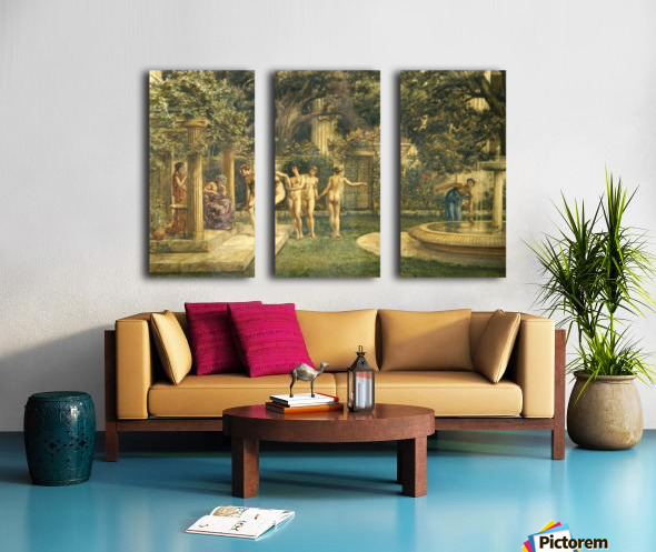 A visit to Aesculapius Split Canvas print