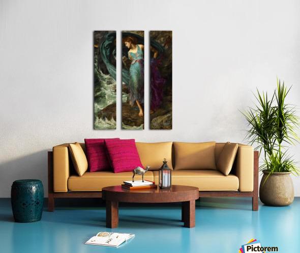 Andromeda Split Canvas print