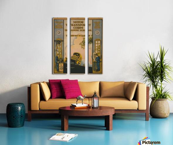 Learn a trade Split Canvas print
