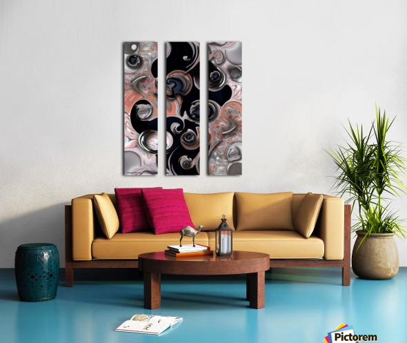 Vision and Morphism Split Canvas print