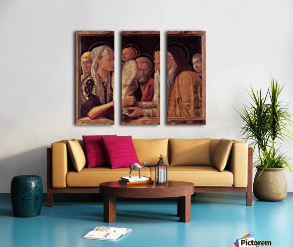 Presentation of Jesus at the Temple Split Canvas print