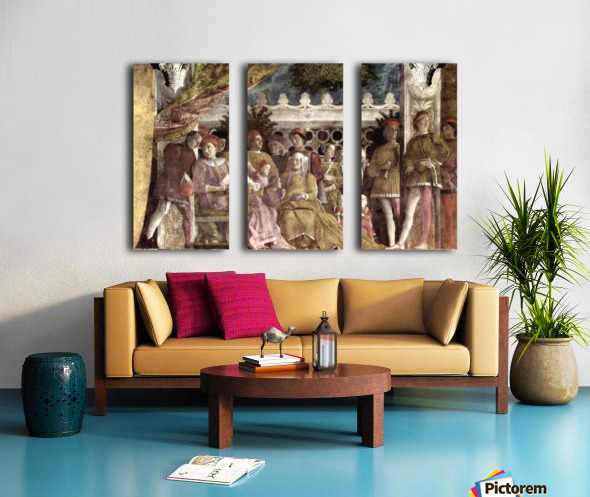 Camera degli Sposi Split Canvas print