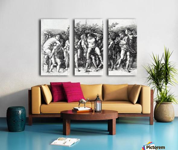 Bacchanal in Silene Split Canvas print