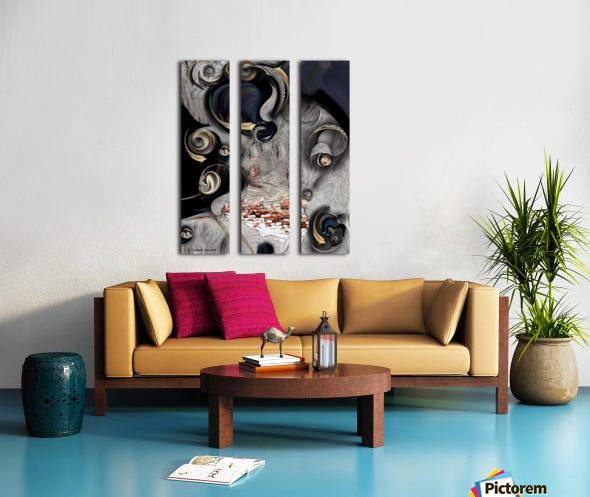 Vision of Aesthetic Thing  Split Canvas print