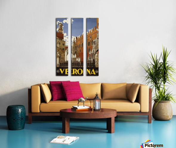 Verona Split Canvas print