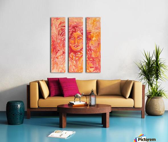 Separation Split Canvas print