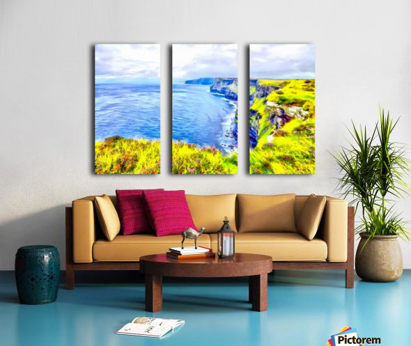 CLIFFS OF MOHER 1 AZO Split Canvas print